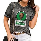 Gameday Couture Women's Marshall Thundering Herd Grey Boyfriend T-Shirt