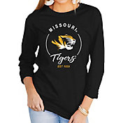 Gameday Couture Women's Missouri Tigers Varsity Long Sleeve Black T-Shirt