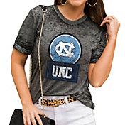Gameday Couture Women's North Carolina Tar Heels Grey Boyfriend T-Shirt