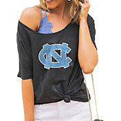 Gameday Couture Women's North Carolina Tar Heels Grey Vibing Boyfriend T-Shirt