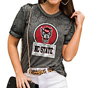 Gameday Couture Women's NC State Wolfpack Grey Boyfriend T-Shirt