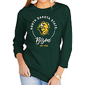 Gameday Couture Women's North Dakota State Bison Green Varsity Long Sleeve T-Shirt