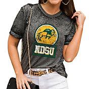 Gameday Couture Women's North Dakota State Bison Grey Boyfriend T-Shirt