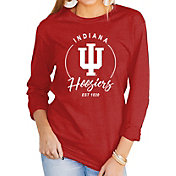 Gameday Couture Women's Indiana Hoosiers Crimson Varsity Long Sleeve T-Shirt