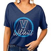 Gameday Couture Women's Villanova Wildcats Navy Subtle Dolman Sleeve V-Neck T-Shirt