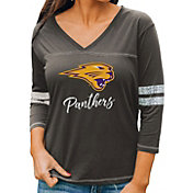 Gameday Couture Women's Northern Iowa Panthers  Grey ¾ Sleeve Sport T-Shirt