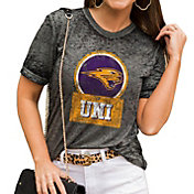 Gameday Couture Women's Northern Iowa Panthers  Grey Boyfriend T-Shirt