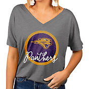 Gameday Couture Women's Northern Iowa Panthers  Grey Subtle Dolman Sleeve V-Neck T-Shirt