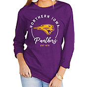 Gameday Couture Women's Northern Iowa Panthers  Purple Varsity Long Sleeve T-Shirt