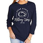 Gameday Couture Women's Penn State Nittany Lions Blue Varsity Long Sleeve T-Shirt
