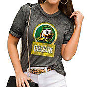 Gameday Couture Women's Oregon Ducks Grey Boyfriend T-Shirt
