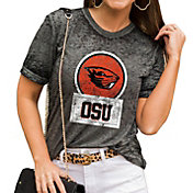 Gameday Couture Women's Oregon State Beavers Grey Boyfriend T-Shirt