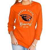 Gameday Couture Women's Oregon State Beavers Orange Varsity Long Sleeve T-Shirt