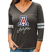 Gameday Couture Women's Arizona Wildcats Grey ¾ Sleeve Sport T-Shirt