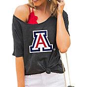 Gameday Couture Women's Arizona Wildcats Grey Vibing Boyfriend T-Shirt