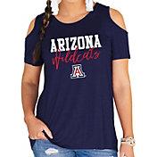 Gameday Couture Women's Arizona Wildcats Navy Cold Shoulder T-Shirt