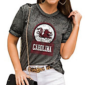 Gameday Couture Women's South Carolina Gamecocks Grey Boyfriend T-Shirt