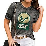 Gameday Couture Women's South Florida Bulls Grey Boyfriend T-Shirt