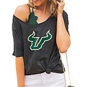 Gameday Couture Women's South Florida Bulls Grey Vibing Boyfriend T-Shirt