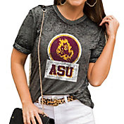 Gameday Couture Women's Arizona State Sun Devils Grey Boyfriend T-Shirt