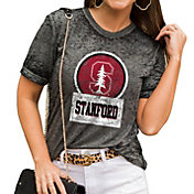 Gameday Couture Women's Stanford Cardinal Grey Boyfriend T-Shirt