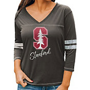 Gameday Couture Women's Stanford Cardinal Grey ¾ Sleeve Sport T-Shirt