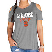 Gameday Couture Women's Syracuse Orange Grey Cold Shoulder T-Shirt