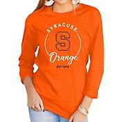 Gameday Couture Women's Syracuse Orange Orange Varsity Long Sleeve T-Shirt