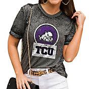 Gameday Couture Women's TCU Horned Frogs Grey Boyfriend T-Shirt