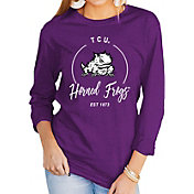 Gameday Couture Women's TCU Horned Frogs Purple Varsity Long Sleeve T-Shirt