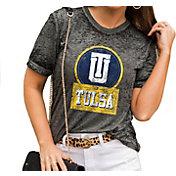 Gameday Couture Women's Tulsa Golden Hurricane Grey Boyfriend T-Shirt