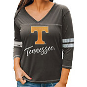 Gameday Couture Women's Tennessee Volunteers Grey ¾ Sleeve Sport T-Shirt