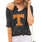 Gameday Couture Women's Tennessee Volunteers Grey Vibing Boyfriend T-Shirt