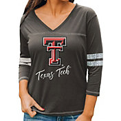 Gameday Couture Women's Texas Tech Red Raiders Grey ¾ Sleeve Sport T-Shirt