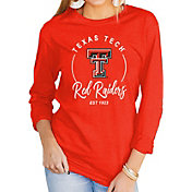 Gameday Couture Women's Texas Tech Red Raiders Red Varsity Long Sleeve T-Shirt