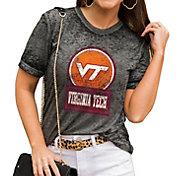 Gameday Couture Women's Virginia Tech Hokies Grey Boyfriend T-Shirt