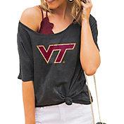 Gameday Couture Women's Virginia Tech Hokies Grey Vibing Boyfriend T-Shirt