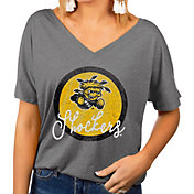 Gameday Couture Women's Wichita State Shockers Grey Subtle Dolman Sleeve V-Neck T-Shirt