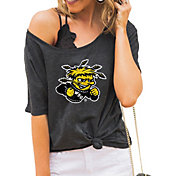 Gameday Couture Women's Wichita State Shockers Grey Vibing Boyfriend T-Shirt