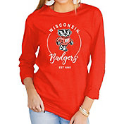Gameday Couture Women's Wisconsin Badgers Red Varsity Long Sleeve T-Shirt