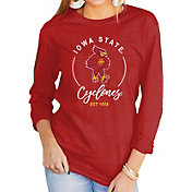 Gameday Couture Women's Iowa State Cyclones Cardinal Varsity Long Sleeve T-Shirt