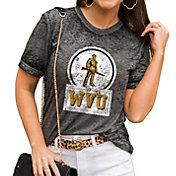 Gameday Couture Women's West Virginia Mountaineers Grey Boyfriend T-Shirt