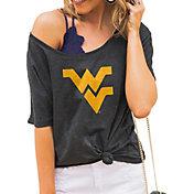 Gameday Couture Women's West Virginia Mountaineers Grey Vibing Boyfriend T-Shirt