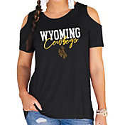 Gameday Couture Women's Wyoming Cowboys Black Cold Shoulder T-Shirt