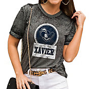 Gameday Couture Women's Xavier Musketeers Grey Boyfriend T-Shirt