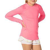 Lucky In Love Girls' Long Sleeve Tennis Shirt