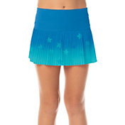 Lucky In Love Girls' Ombre Star Pleated Tennis Skort
