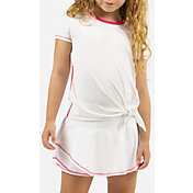 Lucky In Love Girls' Tie Knot Tennis Shirt