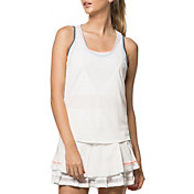 Lucky In Love Women's Bungee Tennis Tank