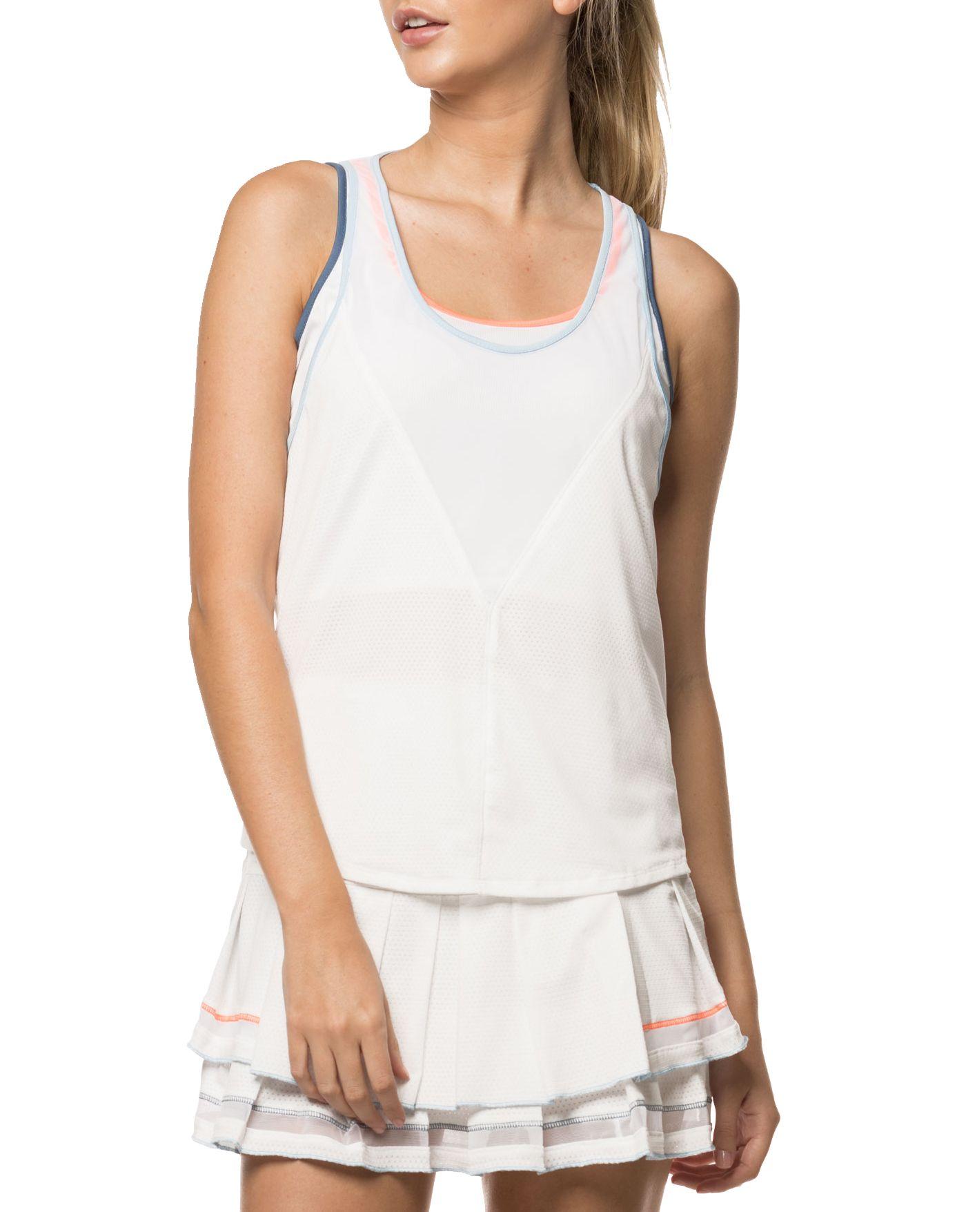 Lucky In Love Women's Bungee Tennis Tank